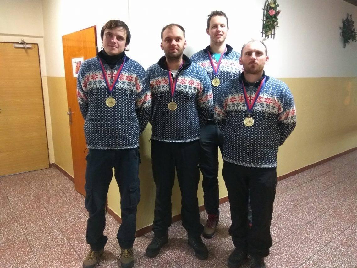 Vítězné družstvo mužů - Slavoj Stožice