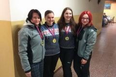 Vítězné družstvo žen - Slavoj Stožice