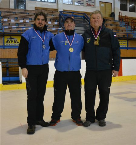 Medailisté soutěže mužů