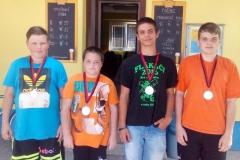 MČR mládeže 10.9.2016 2.místo