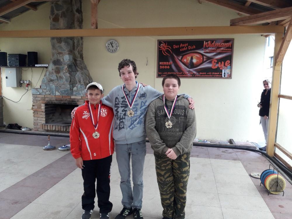 mládež MČR 1.místo 2018
